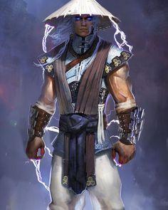 """#throwback Raiden concept, Mortal Kombat X. Scroll way down my feed to see more #mortalkombat art """