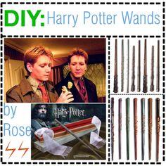 """DIY Harry Potter Wands"" by polyvoresnumber1tipgirls on Polyvore"