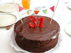 Sacher vegano de cumpleaños #vegan #veganrecipe #recetavegana