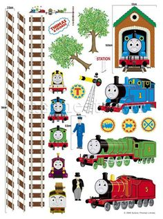 Mural - Thomas and Friends