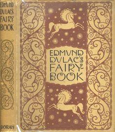 Edmund Dulac's Fairy Book - vintage book cover