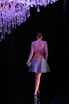 "eliesaab: ""To New Beginnings: A new Light. A new Journey. Step into another magical year with ELIE SAAB. Style Couture, Couture Fashion, Runway Fashion, Elie Saab Couture, Fashion Now, High Fashion, Fashion Women, Elie Saab Dresses, Fancy Gowns"