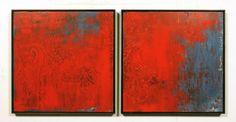 martin lechner carré #00640116 - oil on canvas on panel 60 x 60 cm
