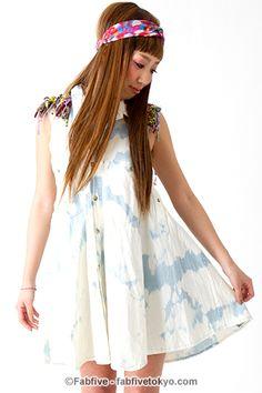 VooDoo DENIM SHIRT DRESS - Fabfive   ファブファイブ - ガールズナンバーワンデパート
