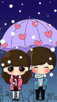 Image discovered by 𝐆𝐄𝐘𝐀 𝐒𝐇𝐕𝐄𝐂𝐎𝐕𝐀 👣. Find images and videos about girl, love and cute on We Heart It - the app to get lost in what you love. Love Cartoon Couple, Chibi Couple, Cute Love Cartoons, Cute Love Couple, Anime Love Couple, Cute Cartoon, Baby Girl Wallpaper, Cute Couple Wallpaper, Cartoon Drawings Of People
