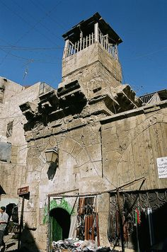 Mosque in the old city, Aleppo, Syria by iancowe, via Flickr