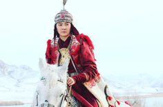 Zhakhan begim – the wife of Zhanibek Khan, ruler of Kazakh Khanate. See this Instagram photo by @qazaq_eli_550