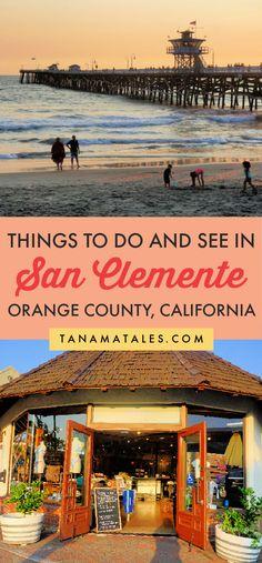 California Destinations, Us Travel Destinations, California Travel, Southern California, Places To Travel, San Clemente Beach, San Clemente California, Canada Travel, Usa Travel