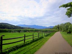 Stowe Recreation Path (Stowe, VT) http://vermontology.com/ #vt #newengland #tours #guidedtours #travel #summer
