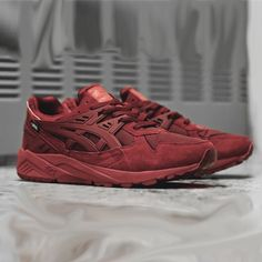 b4d8d7155e84eb Asics Gel Kayano Evo  Red Urban Outfits