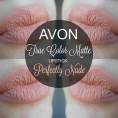 mela-e-cannella: Avon True Color Matte Lipstick - Perfectly Nude