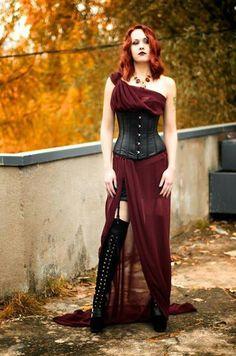 Steamgoth. Strampunk. Gothic. Goth. Fashion