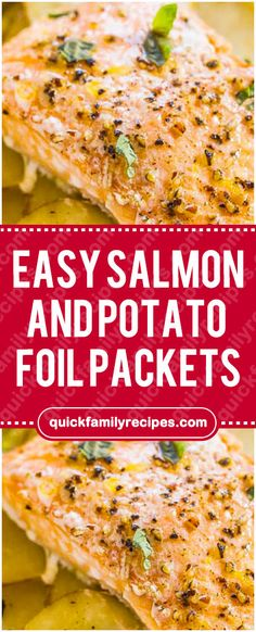 You Have Meals Poisoning More Normally Than You're Thinking That Easy Salmon And Potato Foil Packets Baked Salmon Recipes, Fish Recipes, Seafood Recipes, Appetizer Recipes, Dinner Recipes, Potato Recipes, Recipies, Foil Potatoes, Foil Packet Potatoes