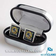 Watson Clan Crest Cufflinks