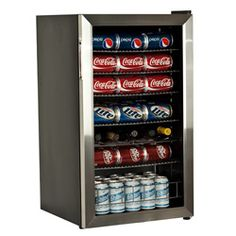 EdgeStar Beverage Cooler - Stainless Steel 103 Can