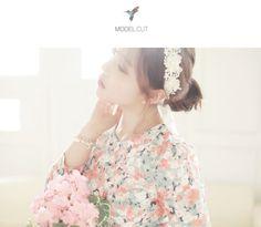 [Kitsch Island] Flower Ribbon Hair Band For Wedding