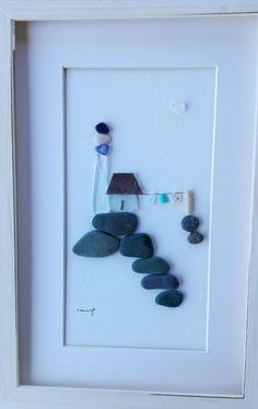 Your place to buy and sell all things handmade Art Mural, Wall Art, Mini Toile, Lighthouse Gifts, Room Themes, Art Plastique, Pebble Art, Rock Art, Home And Living