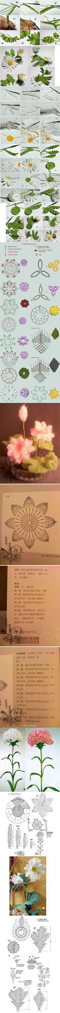 Häkelblumen
