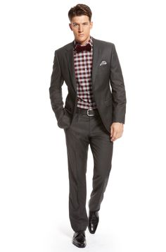 Love it! | Perfect party look for the holidays by HUGO BOSS. www.designerclothingfans.com