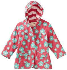 Hatley Girls 2-6X Children Blue Flowers Rain Coat $20.78 #topseller