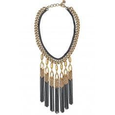 Stella & Dot Lillith Fringe Necklace