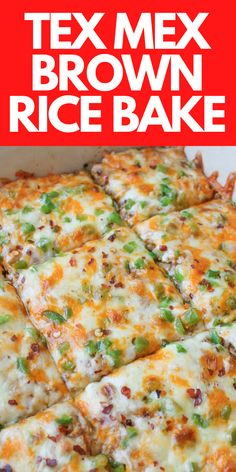 Healthy Mexican Rice, Cheesy Mexican Rice, Homemade Mexican Rice, Mexican Brown Rice, Healthy Mexican Casserole, Mexican Chicken And Rice, Mexican Chicken Casserole, Mexican Rice Recipes, Chicken And Brown Rice