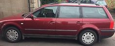 eBay: 1999 VOLKSWAGEN PASSAT SE 20V Dark Red MOT Feb 18 spares & repair #carparts #carrepair