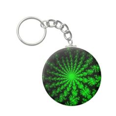 Customizable Alien Fractal Burst Basic Button Keychain on sale for $3.45 at www.zazzle.com/wonderart* or click on the picture to take you directly to the product.