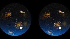 July Fireworks the Virtual Reality Way