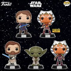 Star Wars: The Clone Wars Pop from Funko Coming Soon