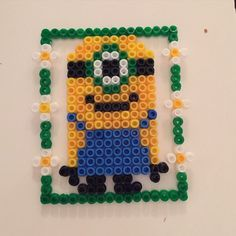 Minion hama beads by victhune