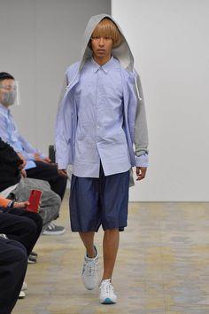 Comme Des Garçons Shirt, Fashion Show Collection, Fall Winter, Autumn, Rain Jacket, Windbreaker, Menswear, Normcore, Mens Fashion