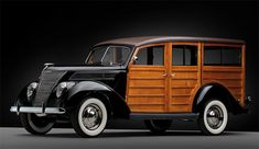 Ford Deluxe Woodie Station Wagon (1937)