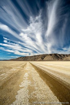Clouds Over The Black Rock Desert