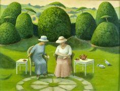 miradadebruja: Marcelle Milo Gray, cultivando el jardin interior...