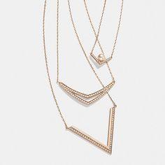 Mix & match pendants for a look that's golden from dusk til dawn. #swarovski - Shop now for swarovski > http://ift.tt/1Ja6lvu