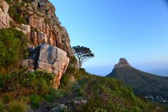 A spectacular view from Table Mountain looking over to Lions Head. http://www.southerncircle.com/c.html