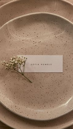 "Paper / Paper Co | ""The Slim"" Place Card"