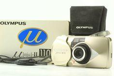 35mm Film, Film Camera, Zoom Lens, Olympus, Mint, Japan, Ebay, Japanese, Peppermint