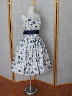 I hope my ladies will like this!! 50s Vintage Retro Bombshell Inspired  Sunday Dress 2c5adea73ecf