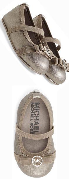 MICHAEL Michael Kors 'Mara Lux' Crib Shoe | LOLO❤