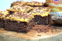 Salted caramel kärleksmums Cocoa Recipes, Sweet Recipes, Baking Recipes, Dessert Recipes, Sweet Bread, Caramel, Sweet Tooth, Bakery, Food And Drink