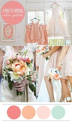 spring summer wedding colors   spring is my favorite time of year for weddings after a long cold ...