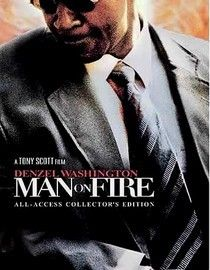 """Man on Fire"""" ,is a great movie,about a bodyguard for a little girl that gets kidnapped.The body guard (Denzel Washington) is consumed by fury,and will stop at nothing to get her back. A real thriller.I love any thing Denzel Washington is in. Epic Movie, Love Movie, Film Movie, 300 Movie, Movies Showing, Movies And Tv Shows, Peliculas Online Hd, Tony Scott, Man On Fire"""