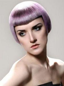 Party-Perfect Purple Hair Color Idea