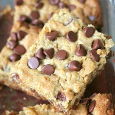 Moist and Delish Chocolate Chip Peanut Butter Oatmeal Bars were on the radar today.  But they are gone, gone, gone now!  Hmm…imagine that, would you?  Seriously, noth…