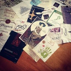 #Instagram #wine #labels #DIY #decor #adoredecor