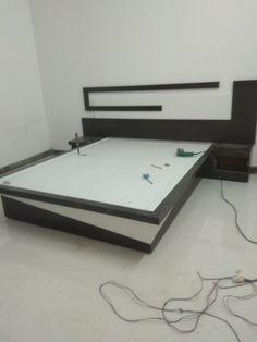 Tv Unit Furniture Design, Bedroom Furniture Design, Bed Furniture, Best Bed Designs, Double Bed Designs, Bedroom Cupboard Designs, Bedroom Closet Design, Plywood Bed Designs, Box Bed Design