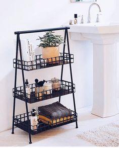 """5,012 curtidas, 34 comentários - Blog De Decoração (@eutambemdecoro) no Instagram: """"Ideia fofa para o lavabo! Foto: Pinterest #decor #decoração #decoration #decoracaocriativa…"""""""