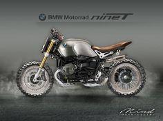 BMW R nineT Scrambler design by Mind Motorcycle #motorcycles #scrambler #motos | caferacerpasion.com